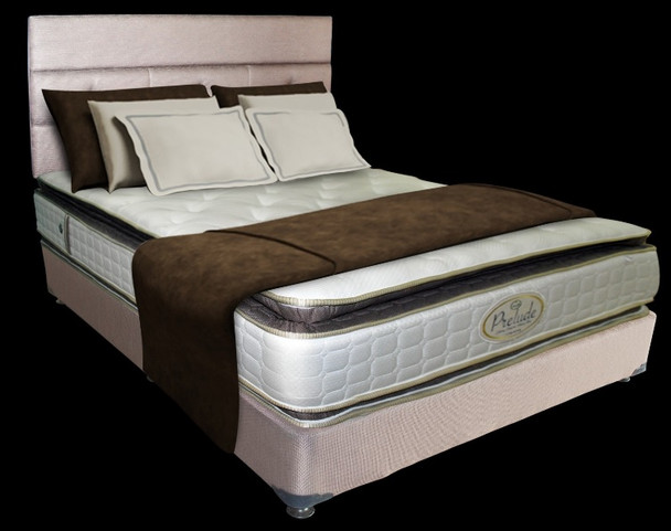 CORDOVAN+LISBON+PRELUDE MATT Padded Bedframe