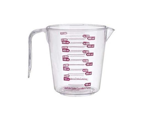 5116 Clear Liquid Measurng Cup 600ml