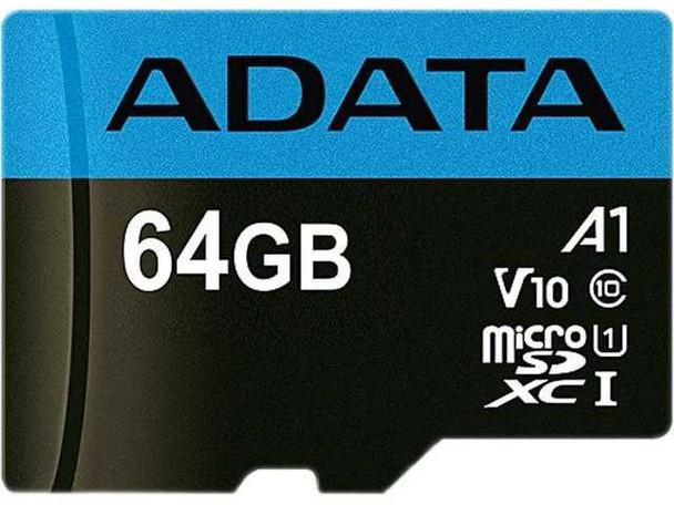 ADATA AUSDX64GUICL10A1 MICRO SD 64GB