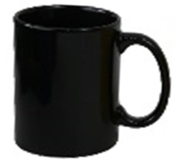 CM-Black 12oz Ceramic Mug