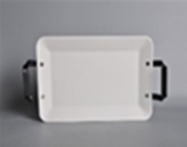 CT-CHUNKY 25CM RECTANGULAR PLATE WITH HANDLE