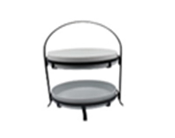CT-BRENA 2 TIER BOWL WITH RACK