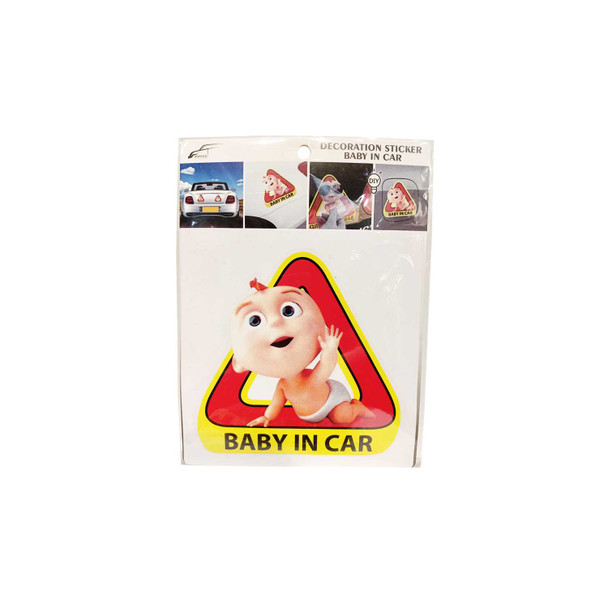 BERWICK C-1247 BABY N CAR STICKER BIG