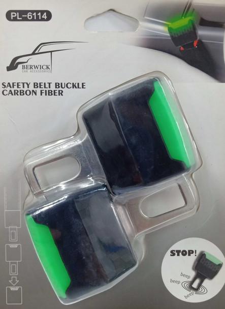 BERWICK C6114 CAR SAFETYBELT BUCKLE 2PC