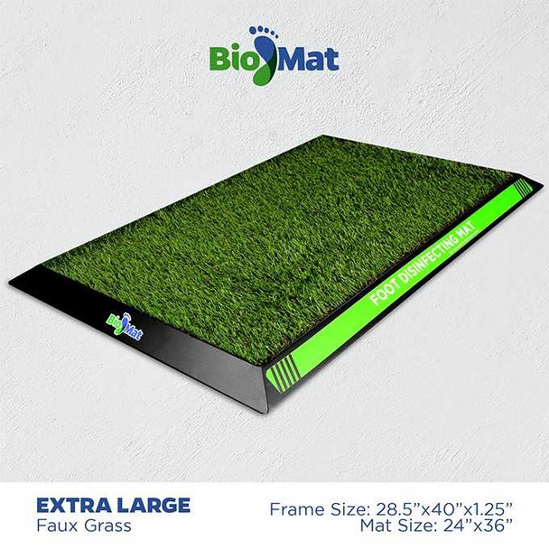 BIOMAT GREEN DISINFECTANT MAT EXTRA LARGE 24x36INCH