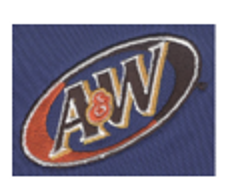 Coffee Brown Silk Touch Polo with A&W logo