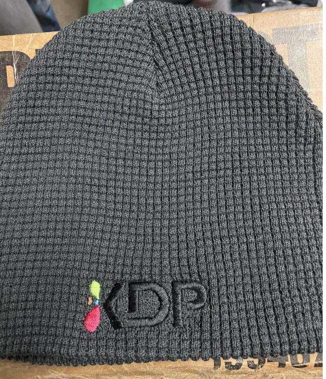 KDP Waffle Knit Beanie