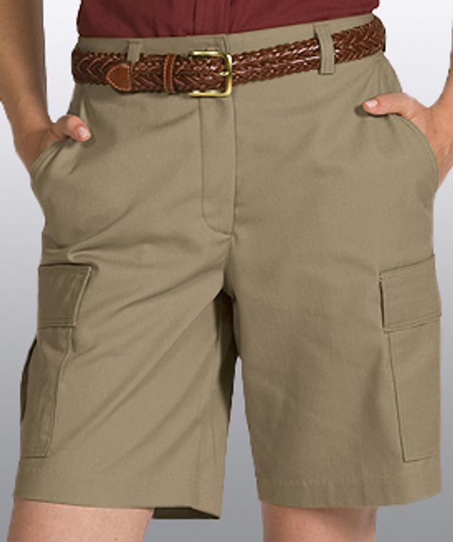 Ladies Cargo Shorts