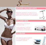 What is the difference between a tanning bed (UV solarium only), a collagen bed ( red light only) and a Collatan bed (UV and red light)