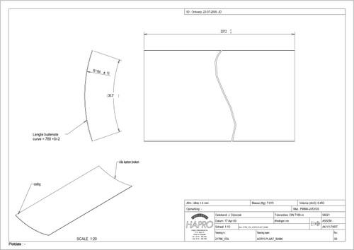 Luxura X3 Acrylic Sheet Base