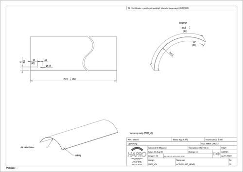 Luxura X3 Acrylic Sheet Canopy