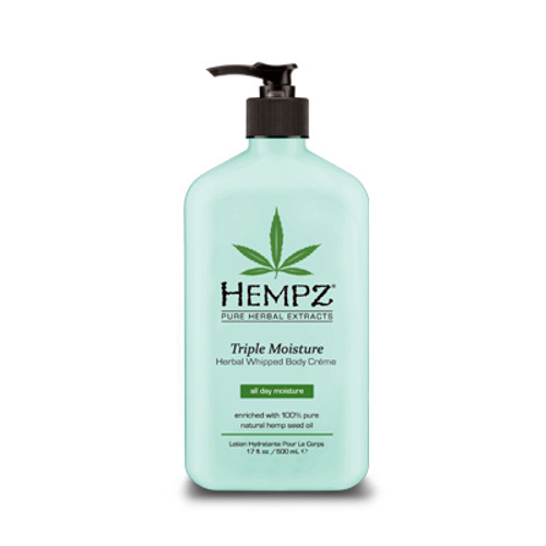 Hempz® Triple Moisture Herbal Whipped Body Creme 500ml