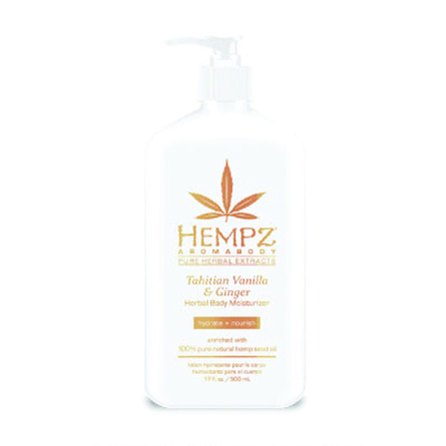 Hempz® Aromabody Tahitian Vanilla & Ginger Herbal Body Moisturiser 500ml