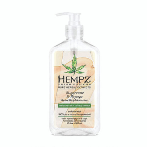 Hempz® Sugarcane & Papaya Herbal Body Moisturizer 500ml