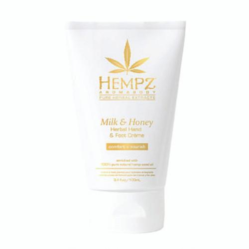 Hempz® Milk & Honey Herbal Hand & Foot Crème 100ml