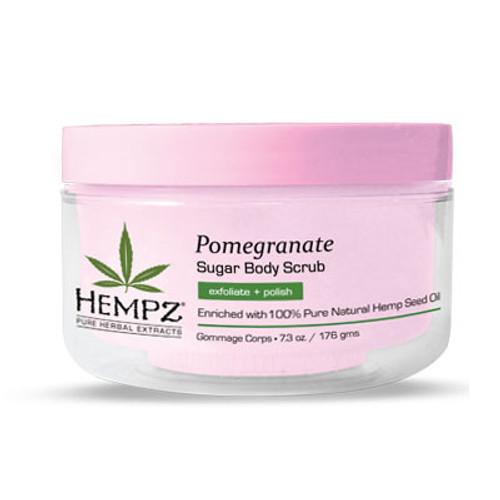 Hempz® Pomegranate Herbal Sugar Body Scrub 176g
