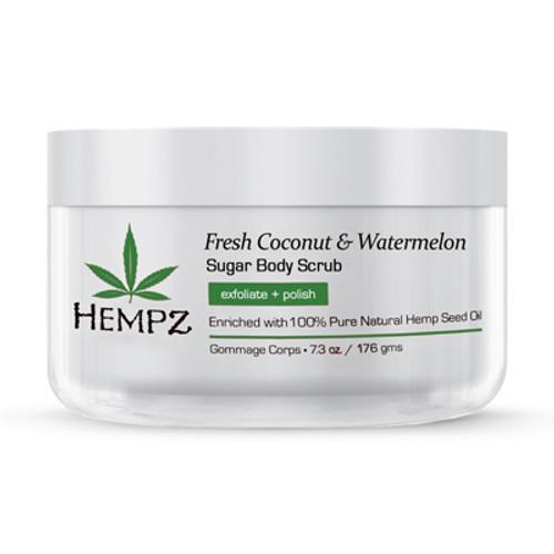 Hempz® Fresh Coconut & Watermelon Herbal Sugar Body Scrub 176g