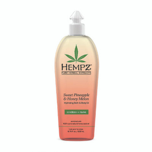 Hempz® Sweet Pineapple & Honey Melon Hydrating Bath & Body Oil 200ml