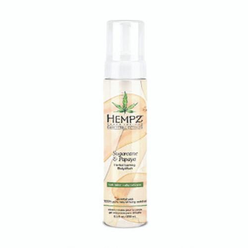 Hempz® Sugarcane & Papaya Herbal Foaming Body Wash 250ml