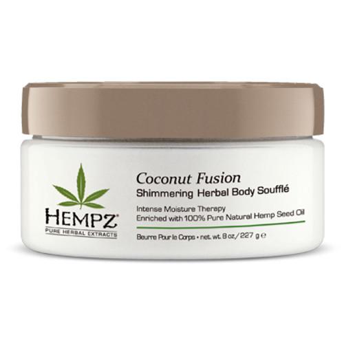 Hempz® Coconut Fusion Shimmering Herbal Body Soufflé 235g