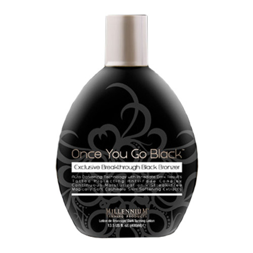 Once You Go Black Tanning Lotion - 400ml