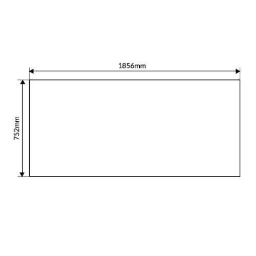Solaire 24/28 Acrylic Sheet Bench
