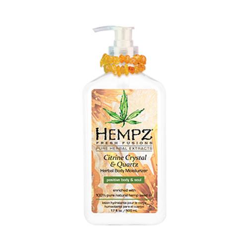Hempz® Citrine Crystal & Quartz Body Moisturizer 500ml