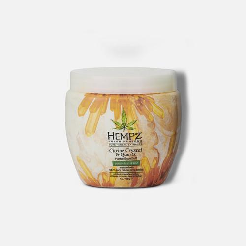 Hempz® Fresh Fusions Citrine Crystal & Quartz Herbal Body Buff 198g