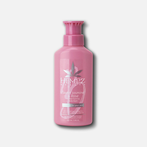 Hempz® Sweet Jasmine & Rose Collagen Infused Herbal Foaming Body Wash 236ml