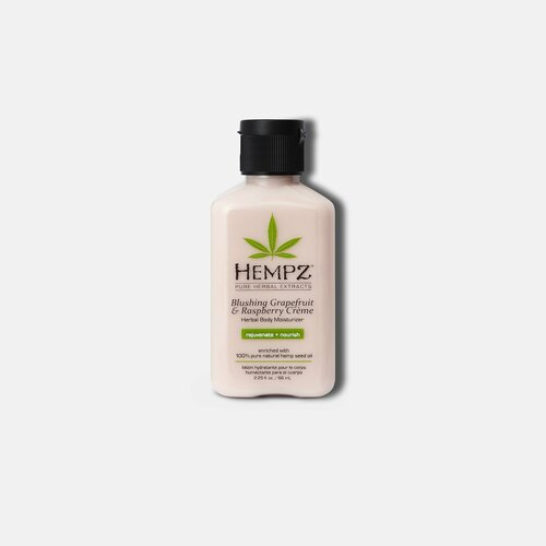 Hempz® Blushing Grapefruit & Raspberry Crème Herbal Body Moisturizer 66ml