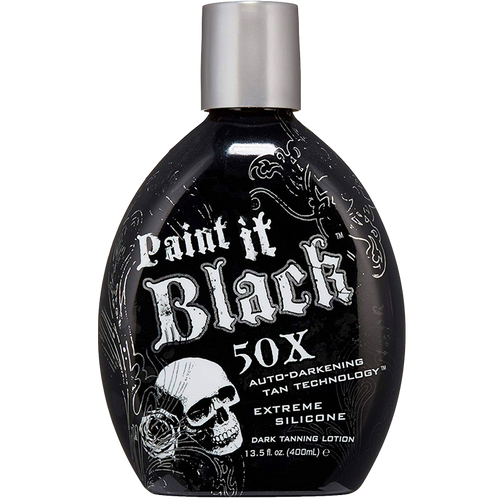PAINT IT BLACK 50X Auto-Darkening Tanning Lotion - 400ml