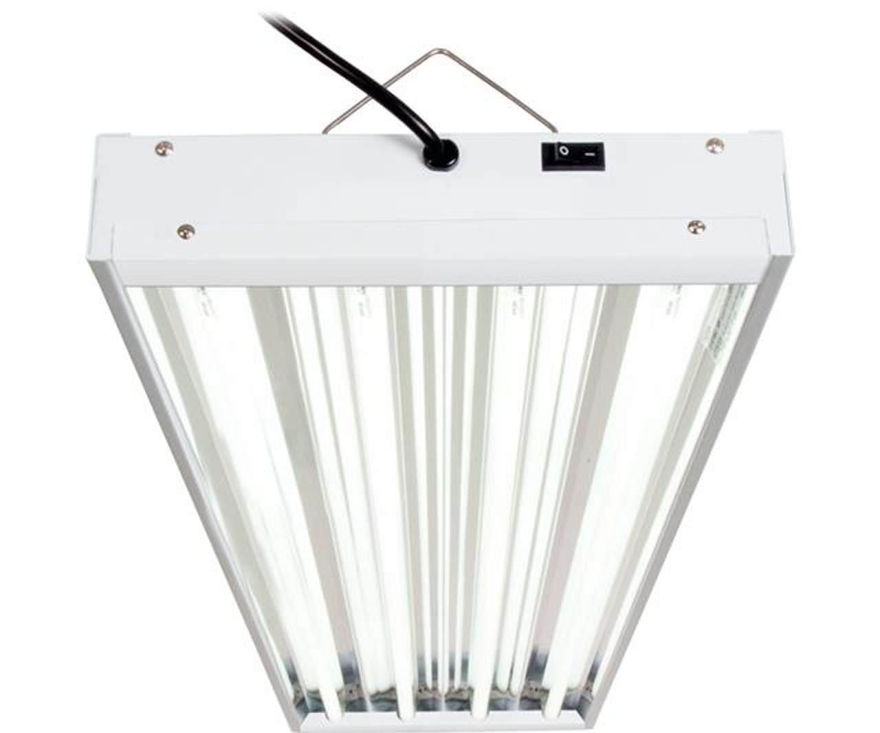 AgroBrite - T5 216W 4' 4-Tube Fixture with Lamps