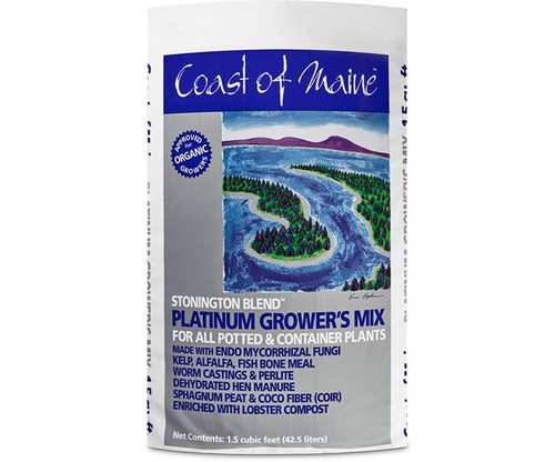 Coast of Maine Stonington Blend Organic Growers Mix, 1.5 cu ft