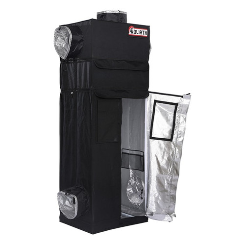 "The Goliath Grow Tent 2'x2.5'x6'11""-7'11"""