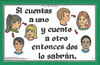 Si cuentas a uno (If I Tell Two People)