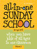 All in One Sunday School ages 4-12 Volume 3