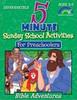 5 Minute Sunday School Activities for Preschoolers - Bible Adventures