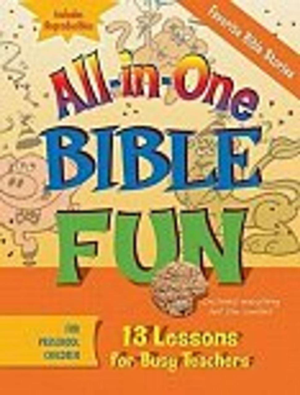 All in One Bible Fun Favorite Bible Stories Preschool