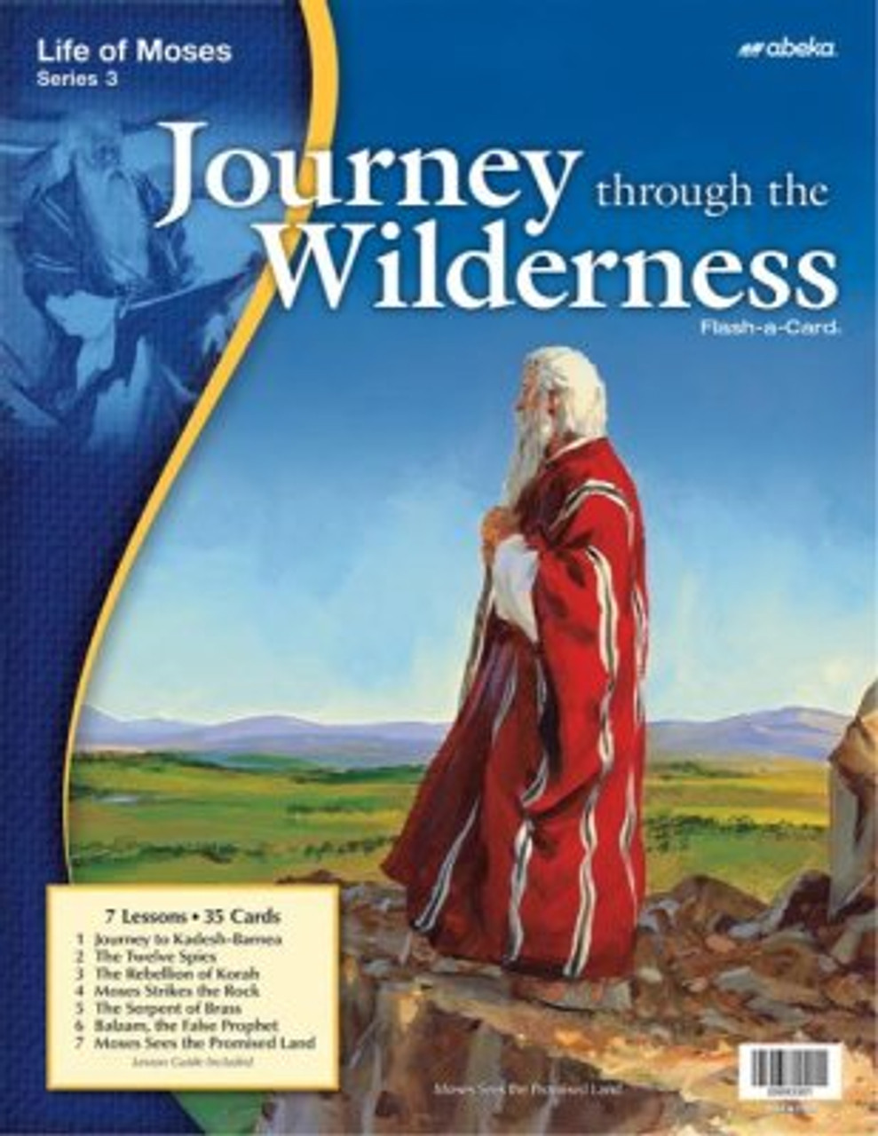 Journey through the Wilderness Life of Moses 3 (12x16)