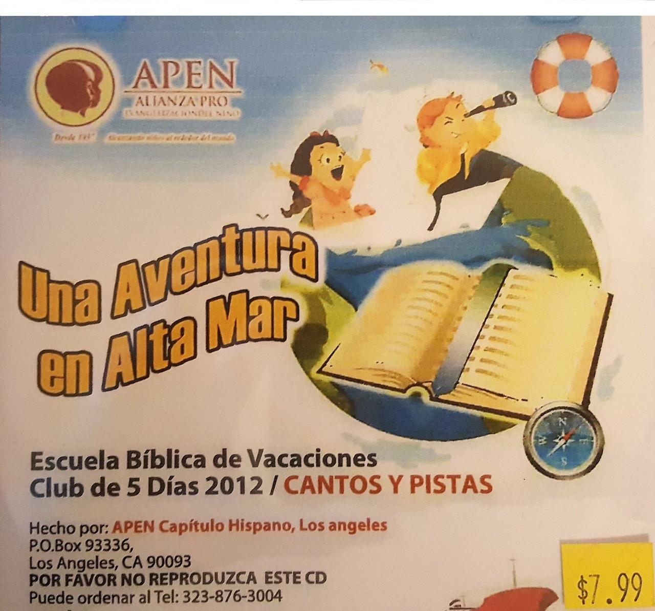 Una Aventura En Alta Mar (music cd)