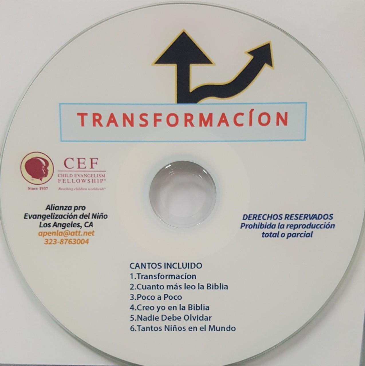 Transformacion (music cd)