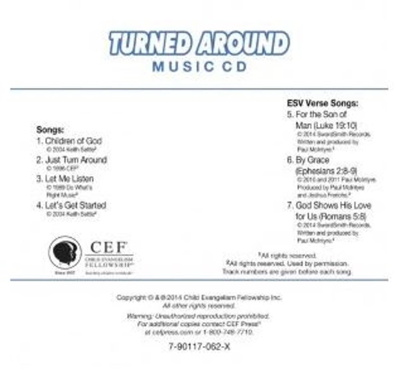 Turned Around (music cd)