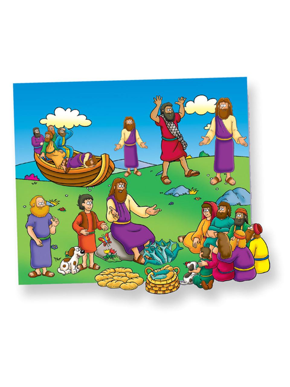 Miracles of Jesus - Beginners Bible (Pre-cut)
