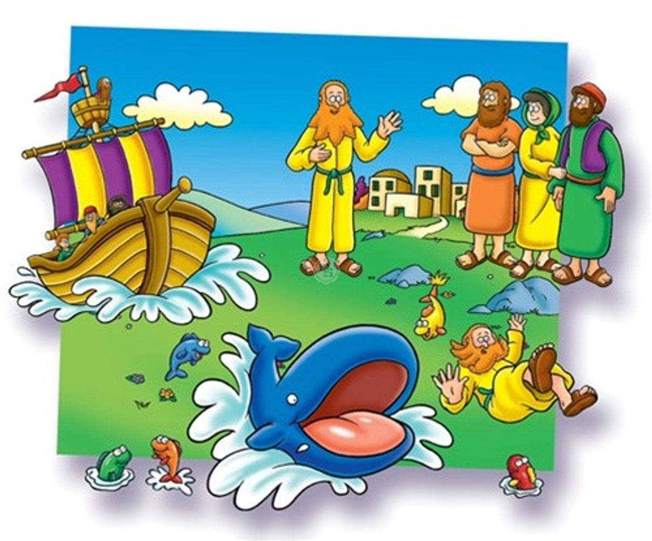 Jonah - Beginners Bible (Pre-cut)