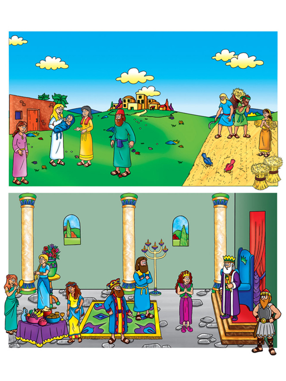 Ruth & Esther - Beginniers Bible (Pre-cut)