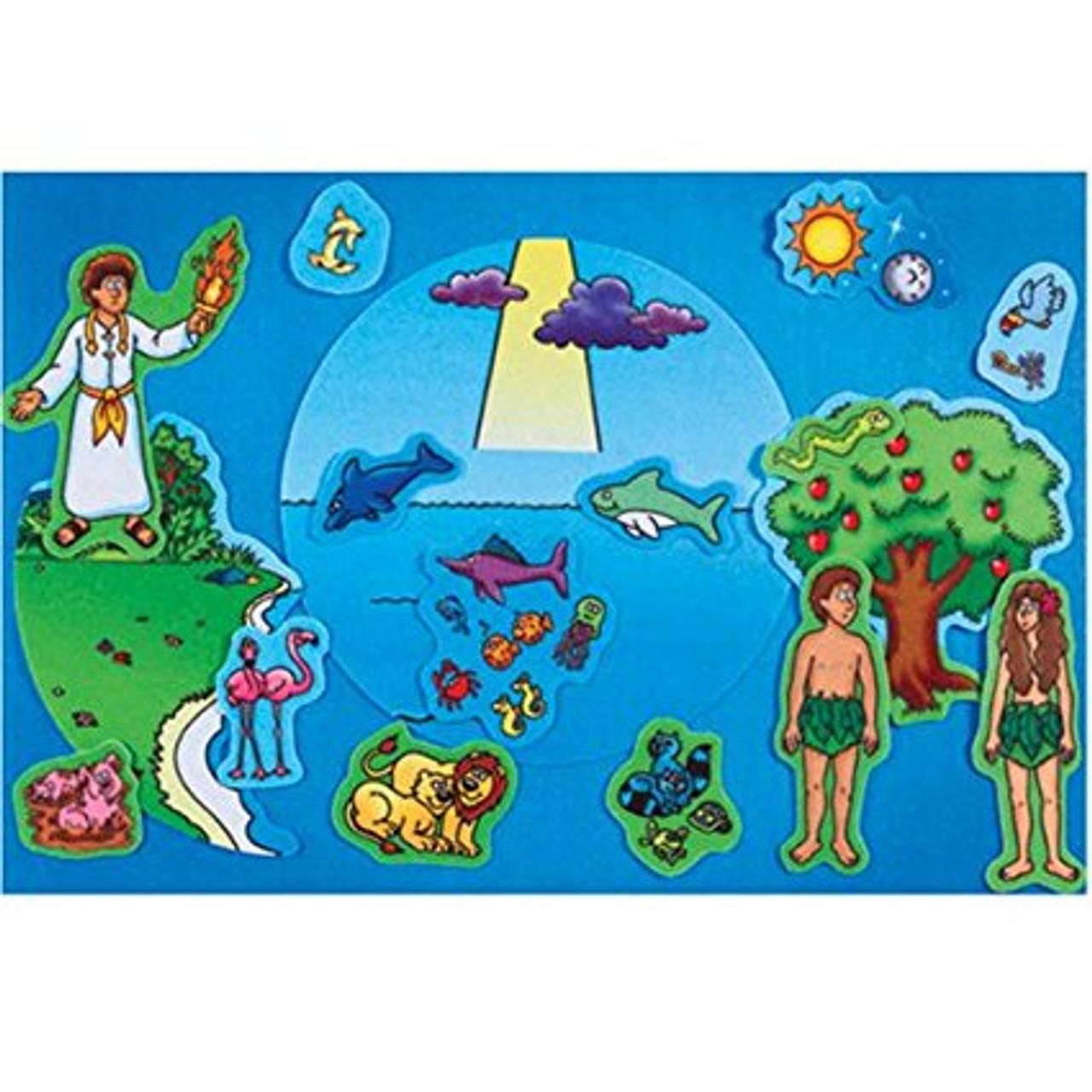 Creation Adam & Eve - Begginers Bible (Pre-cut)