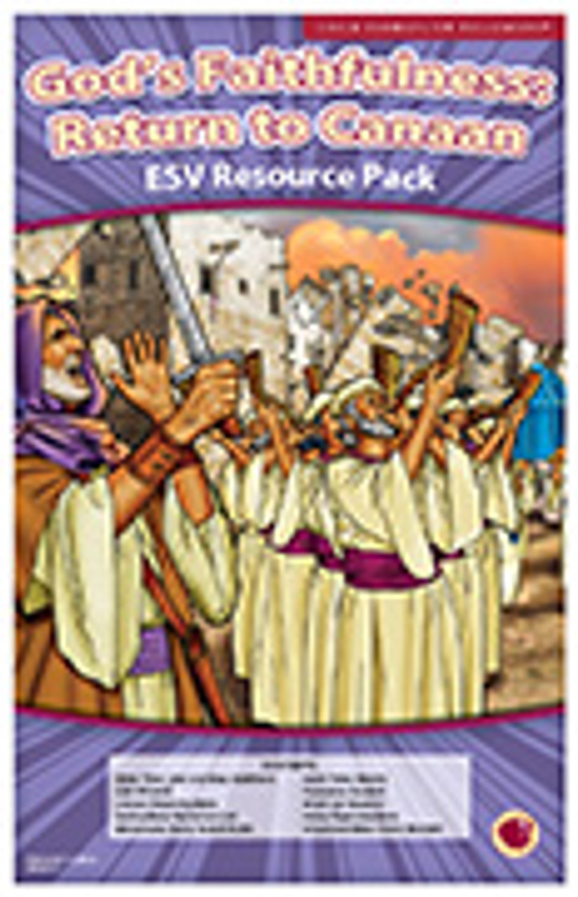 God's Faithfulness: Return to Canaan (resource pack ESV)