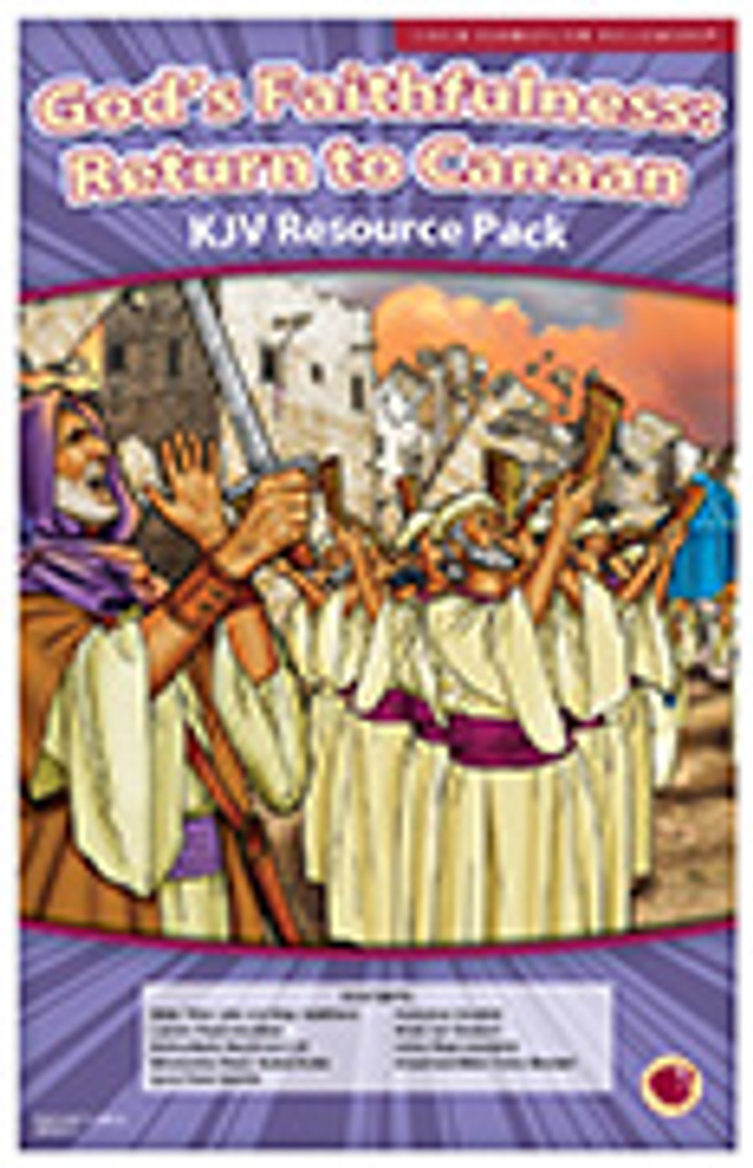 God's Faithfulness: Return to Canaan (resource pack KJV)