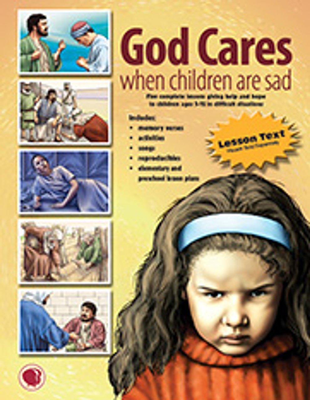 God Cares When Children are Sad (flashcards)