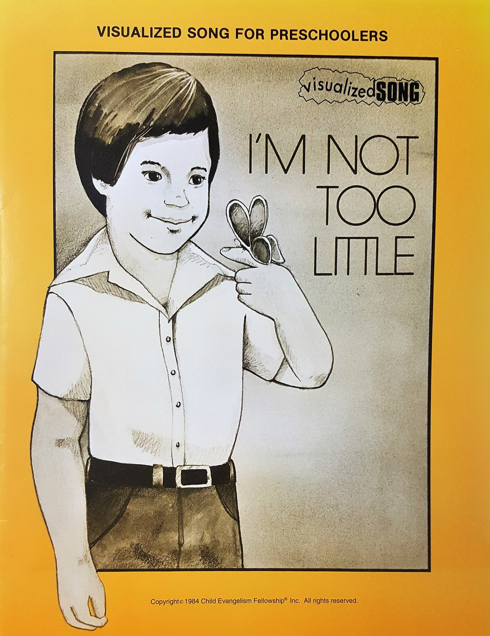 Im Not Too Little (while supplies last)